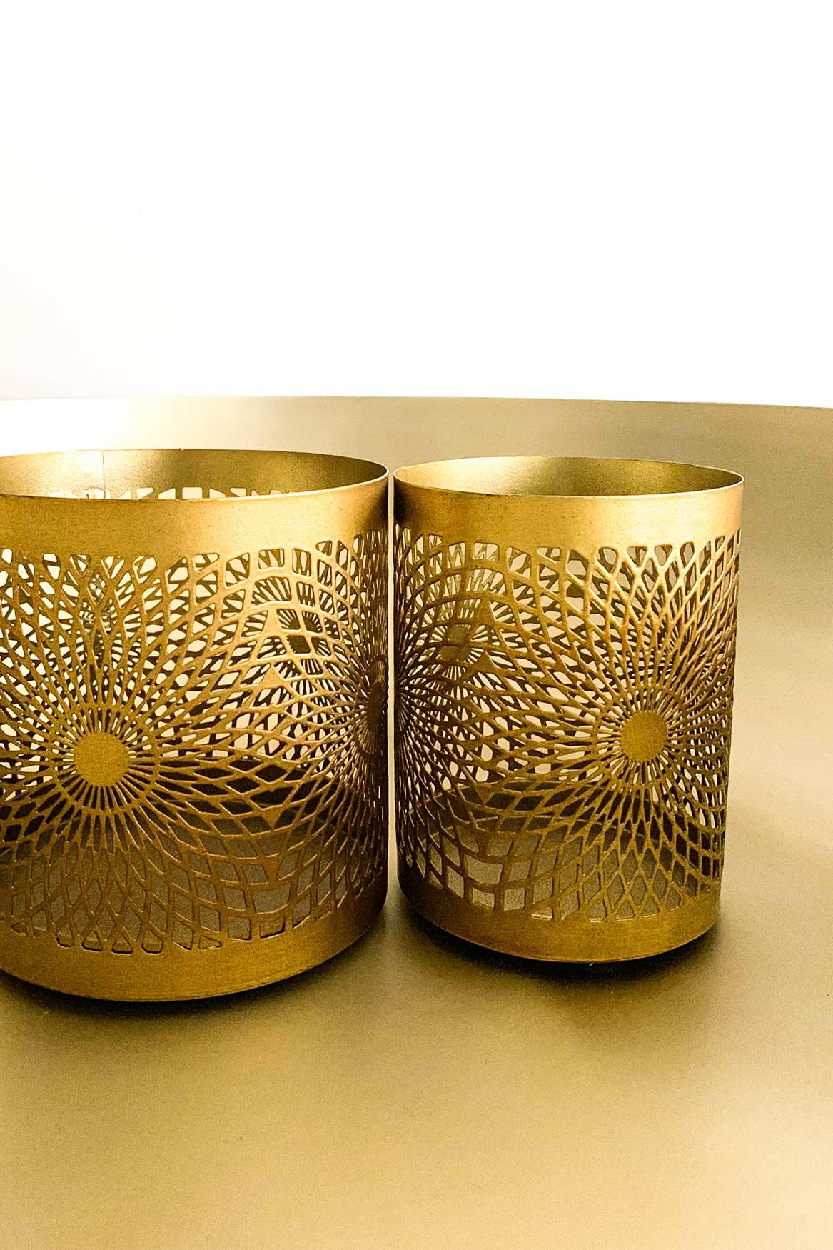 Orientalischer Teelichthalter-Set Shadow