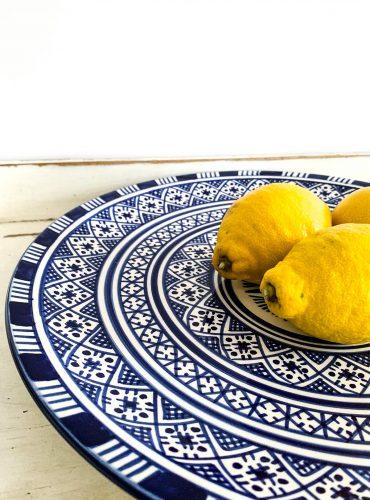 Original marokkanische Keramik-Platte Noura