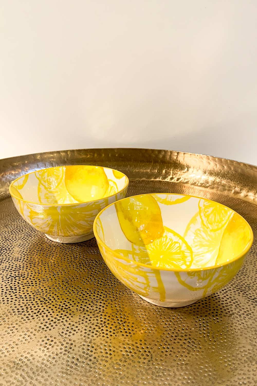 Müslischale Lemon mit Zitronen