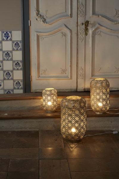 Orientalische Lampe Siam in 3 Größen