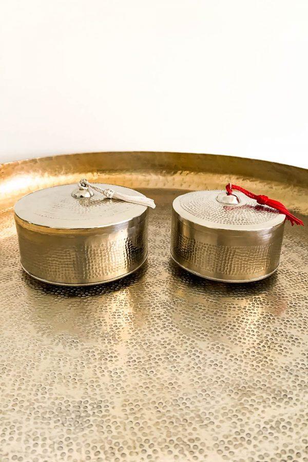 Orientalische Dose Dina in zwei Größen
