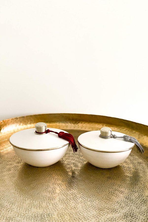 Orientalische Dose Samira aus Keramik