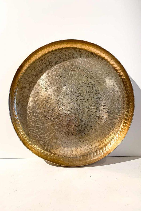 Orientalisches Deko-Tablett Sofia in gold